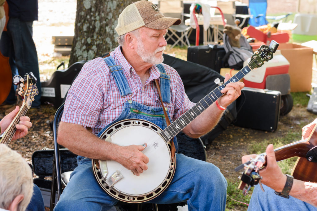 Uncle Dave Macon Days banjo playing